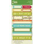 Jillibean Soup - Spicy Social Soup Collection - Cardstock Stickers - Soup Labels