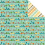Jillibean Soup - Cool As A Cucumber Soup Collection - 12 x 12 Double Sided Paper - Chic Kale