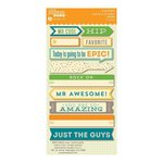 Jillibean Soup - Cool As A Cucumber Soup Collection - Cardstock Stickers - Soup Labels