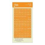 Jillibean Soup - Cool As A Cucumber Soup Collection - Cardstock Stickers - Mini Alphabet