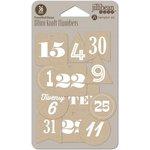 Jillibean Soup - Holly Berry Borscht Collection - Christmas - Mini Kraft Numbers