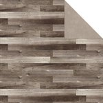 Jillibean Soup - Soup Staples III Collection - 12 x 12 Double Sided Paper - Wood Floor