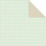 Jillibean Soup - Soup Staples III Collection - 12 x 12 Double Sided Paper - Graph It