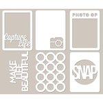 Jillibean Soup - Mini Placemats - 3 x 4 Die Cut Cards - Photography