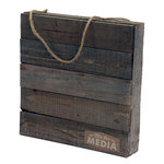 Jillibean Soup - Mix the Media Collection - 10 x 10 Wood Plank