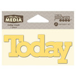 Jillibean Soup - Mix the Media Collection - 4 Inch Stencil Mask - Today