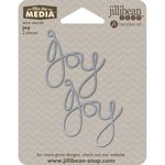 Jillibean Soup - Mix the Media Collection - Wire Words - Joy