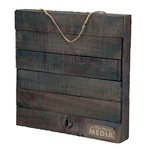 Jillibean Soup - Mix the Media Collection - 12 x 12 Wood Plank