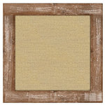 Jillibean Soup - Mix the Media Collection - 12 x 12 Burlap Weathered Frame
