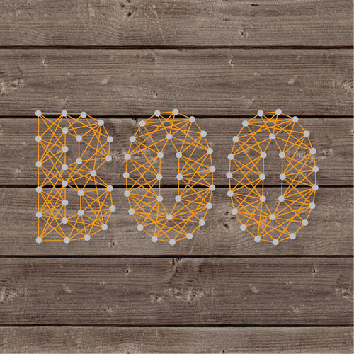 Jillibean Soup Halloween Diy String Art Boo