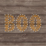 Jillibean Soup - Halloween - DIY String Art - Boo