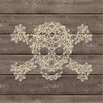 Jillibean Soup - Halloween - DIY String Art - Crossbones