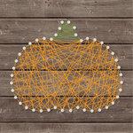 Jillibean Soup - Halloween - DIY String Art - Pumpkin - Solid