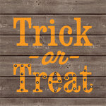 Jillibean Soup - Halloween - DIY Lighted Wood Sign Kit - Trick or Treat