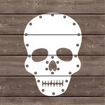 Jillibean Soup - Halloween - DIY Lighted Wood Sign Kit - Skull