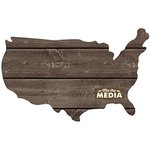 Jillibean Soup - Mix the Media Collection - Wood Plank - USA