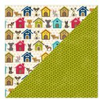 Jillibean Soup - Fur Fusion Collection - 12 x 12 Double Sided Paper - Fido Fun
