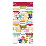 Jillibean Soup - Alphabet Soup II Collection - Cardstock Stickers - Labels