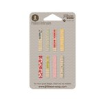 Jillibean Soup - Alphabet Soup II Collection - Mini Clothespin