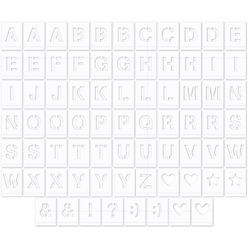 Jillibean Soup - Die Cut Vellum Pieces - Alphabet Tiles - Vellum