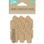 Jillibean Soup - Mini Jewelry Tags - Kraft