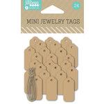 Jillibean Soup - Mini Jewelry Tags - Kraft