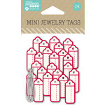 Jillibean Soup - Mini Jewelry Tags - Red