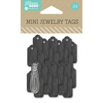 Jillibean Soup - Mini Jewelry Tags - Chalk