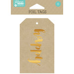 Jillibean Soup - Foil Tags - Happy