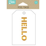 Jillibean Soup - Foil Tags - Hello
