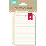 Jillibean Soup - Cardstock Tags - Lines