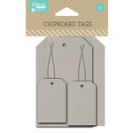 Jillibean Soup - Cardstock Tags - Chipboard