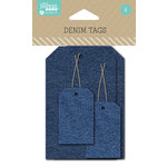 Jillibean Soup - Cardstock Tags - Denim