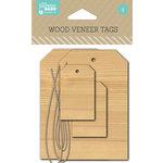 Jillibean Soup - Cardstock Tags - Wood