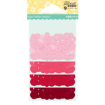 Jillibean Soup - Shaker Sequin Fillers - Reds and Pinks