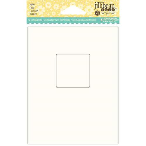 Jillibean Soup - Shaker Card Base - Square