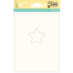 Jillibean Soup - Shaker Card Base - Star