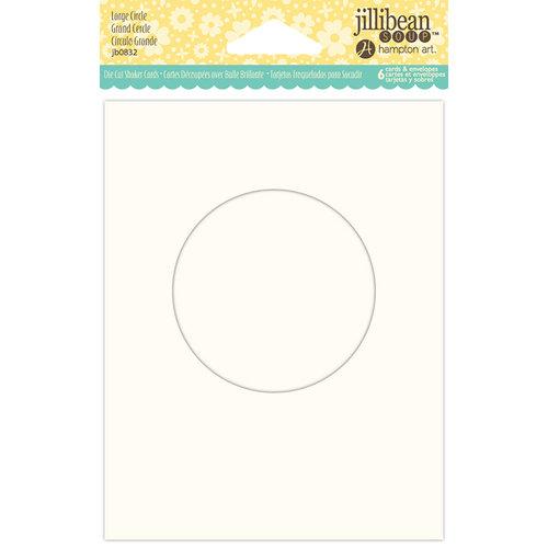 Jillibean Soup - Shaker Card Base - Circle - Large