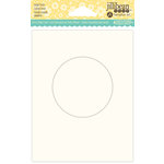 Jillibean Soup - Shaker Card Base - Circle - Large