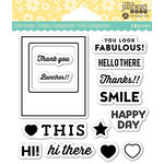 Jillibean Soup - Shaker Clear Acrylic Stamps - Fabulous