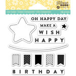 Jillibean Soup - Shaker Clear Acrylic Stamps - Oh Happy Day