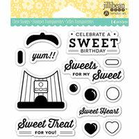 Jillibean Soup - Shaker Clear Acrylic Stamps - Sweet Treat