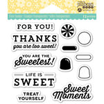 Jillibean Soup - Shaker Clear Acrylic Stamps - Sweet Moment