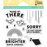 Jillibean Soup - Shaker Clear Acrylic Stamps - Hang n There