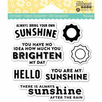 Jillibean Soup - Shaker Clear Acrylic Stamps - My Sunshine