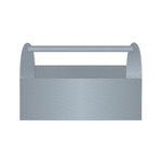 Jillibean Soup - Naturalist Collection - Raw Surfaces - Galvanized - Tool Box - Small