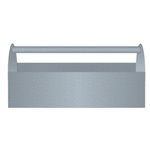 Jillibean Soup - Naturalist Collection - Raw Surfaces - Galvanized - Tool Box - Large