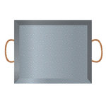 Jillibean Soup - Naturalist Collection - Raw Surfaces - Galvanized - Tray - Small