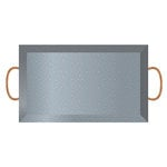 Jillibean Soup - Naturalist Collection - Raw Surfaces - Galvanized - Tray - Large