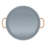 Jillibean Soup - Naturalist Collection - Raw Surfaces - Galvanized - Tray - Round
